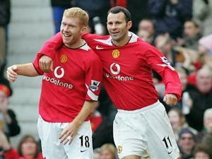 Ryan Giggs dan Paul Scholes,Menchester United,Sepak Bola