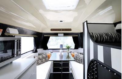 Chic co caravana con mucho estilo - Decoracion interior caravanas ...
