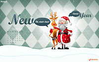 Funny Christmas Desktop Wallpaper