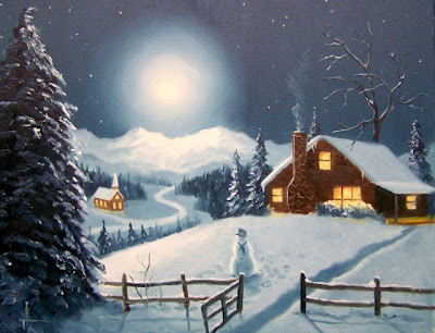 Christmas Snow Wallpaper Free Download