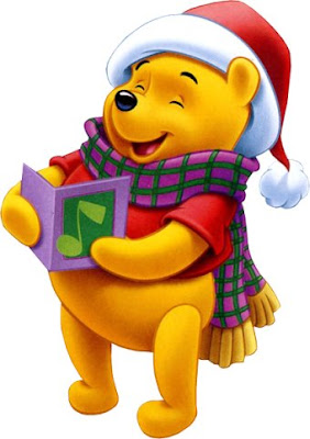 Winnie The Pooh Christmas Clipart