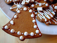 bell shape cookies for christmas