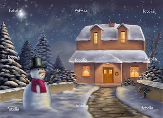 Christmas Landscape Wallpapers for Desktop