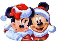 Mickey and Minnie Mouse Christmas Desktop Wallpaper