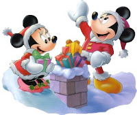 Mickey Minnie Mouse Christmas Wallpaper