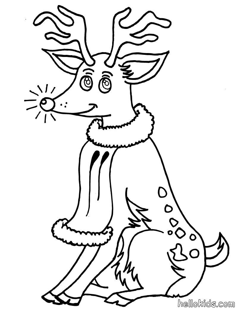 Funny Christmas Coloring Pages | Learn To Coloring