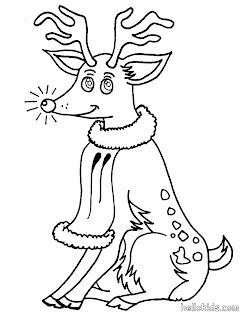 funny xmas reindeer printables