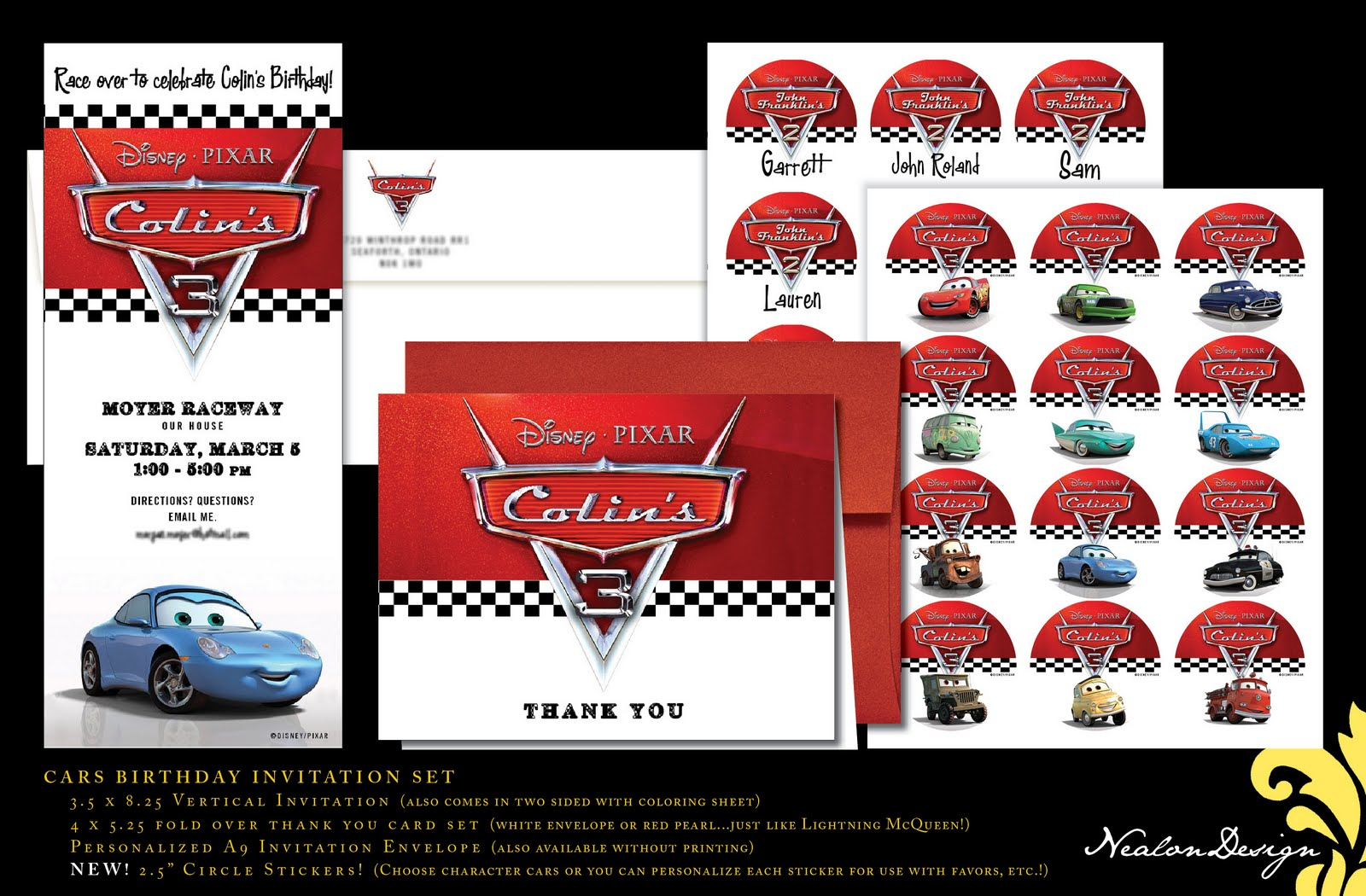 Cars 2 Birthday Invitation Template Invitation Template Moms – Printable Cars Birthday Invitations