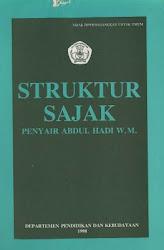 Struktur Sajak Penyair Abdul Hadi W.M.