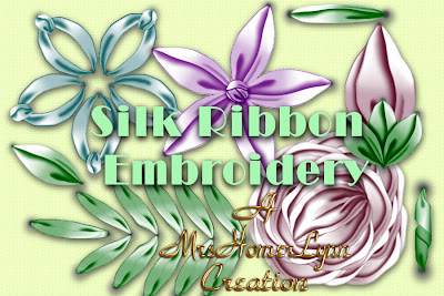 SRE Deluxe, Silk Ribbon Embroidery, Victorian Art Revisited