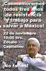 3 AÑOS DE RESISTENCIA