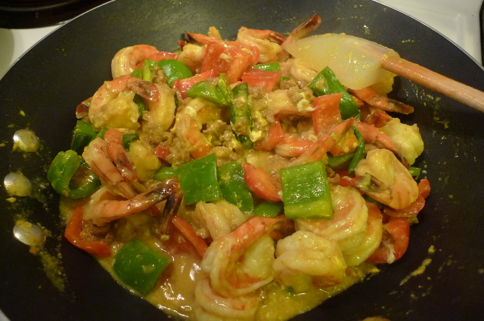 chinese curry shrimp -#main