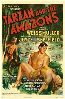 Tarzan y las Amazonas (1945)