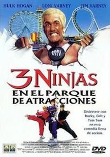 3 ninjas en el parque de atracciones online y gratis