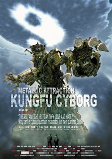 Metallic attraction Kung Fu cyborg (ciencia ficci�n)