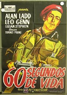 Sesenta segundos de vida (paracaidistas) (1953)