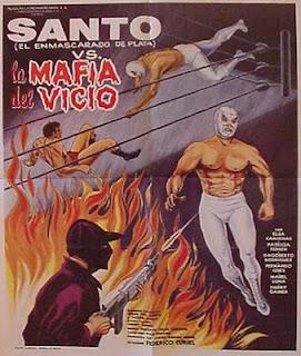 El santo contra la mafia del vicio (1971)