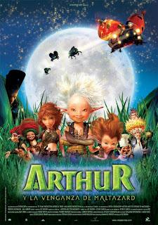 Arthur y la venganza de maltazard (2010)