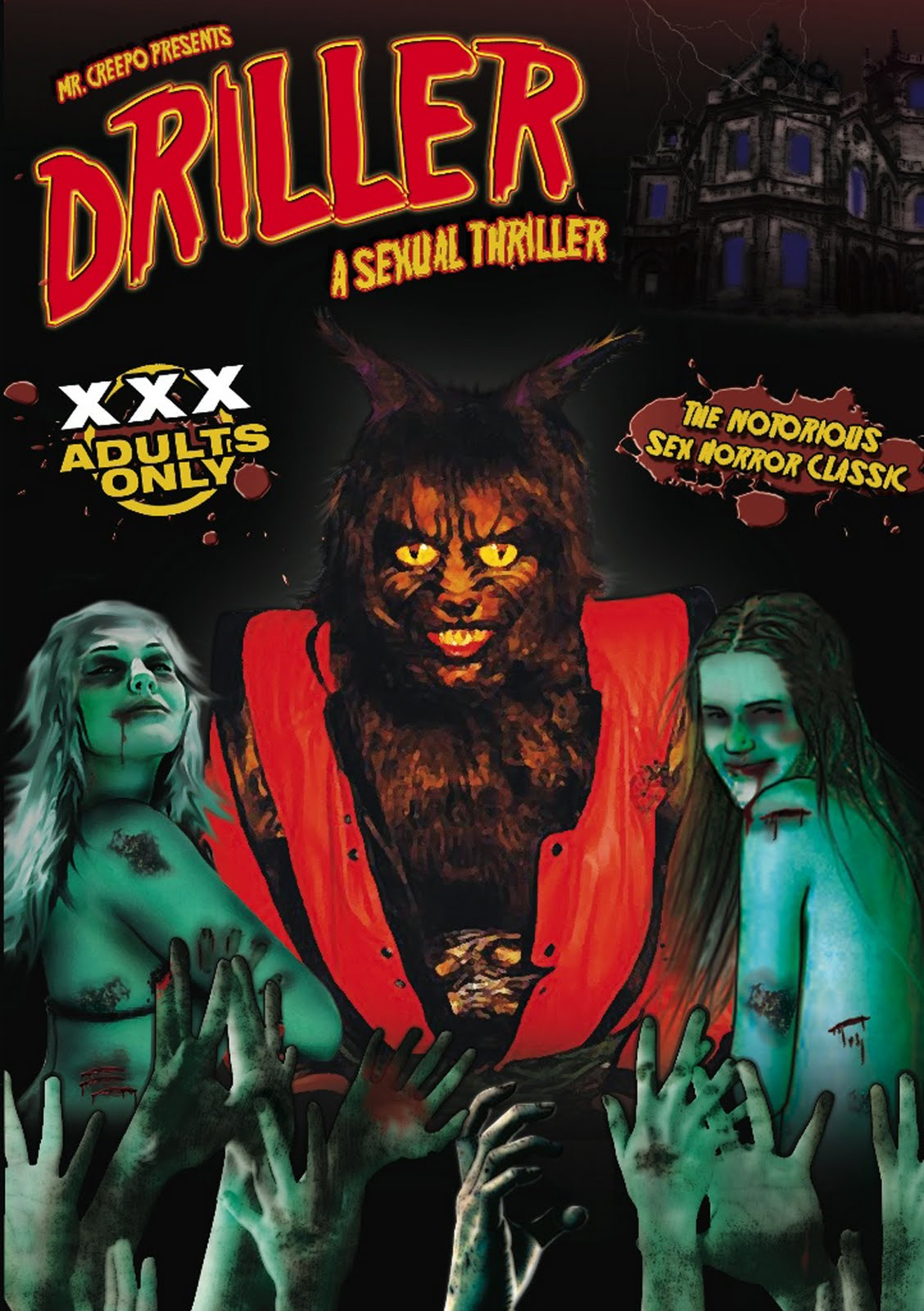 A depraved dungeon full of werewolves, zombies, mutants and hunchbacks ...