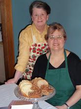 Rae Eighmey and Debbie Miller