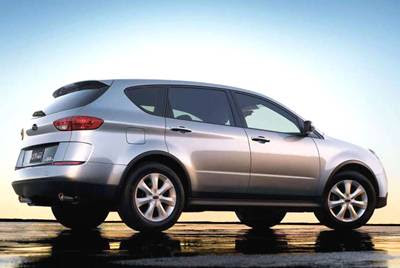 Auto Review  Subaru B9 Tribeca 3 0
