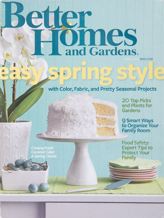 marcus hay fluff N stuff Better Home and Gardens Magazine Covers