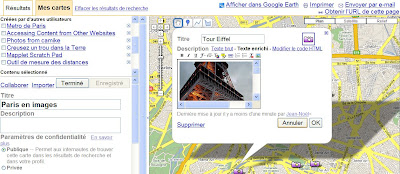google maps cartes collaboratives