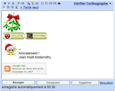 emoticone dans gmail