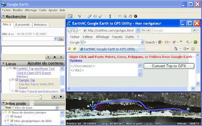 itineraire google earth au format gpx ou garmin