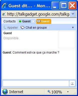 googletalk chatback