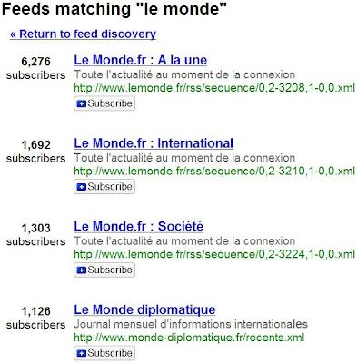 google reader nombre de souscripteurs a un flux rss