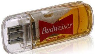 Clé USB Budweiser