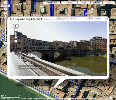 Google Maps Street View Florence