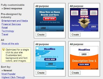 Google AdWords Display Ad Builder