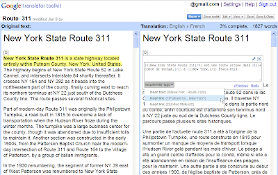 Tout traduire avec Google Translator Toolkit