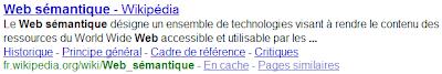 Liens de page dans Google