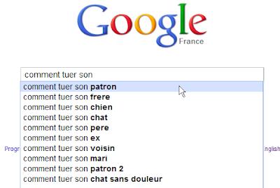 Google xxl google m a tuer - Comment se tuer efficacement ...