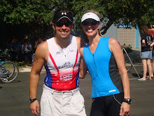 Tracy Butler and Rene Butler Wood River Triathlon