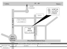 Localização sede da ARQA