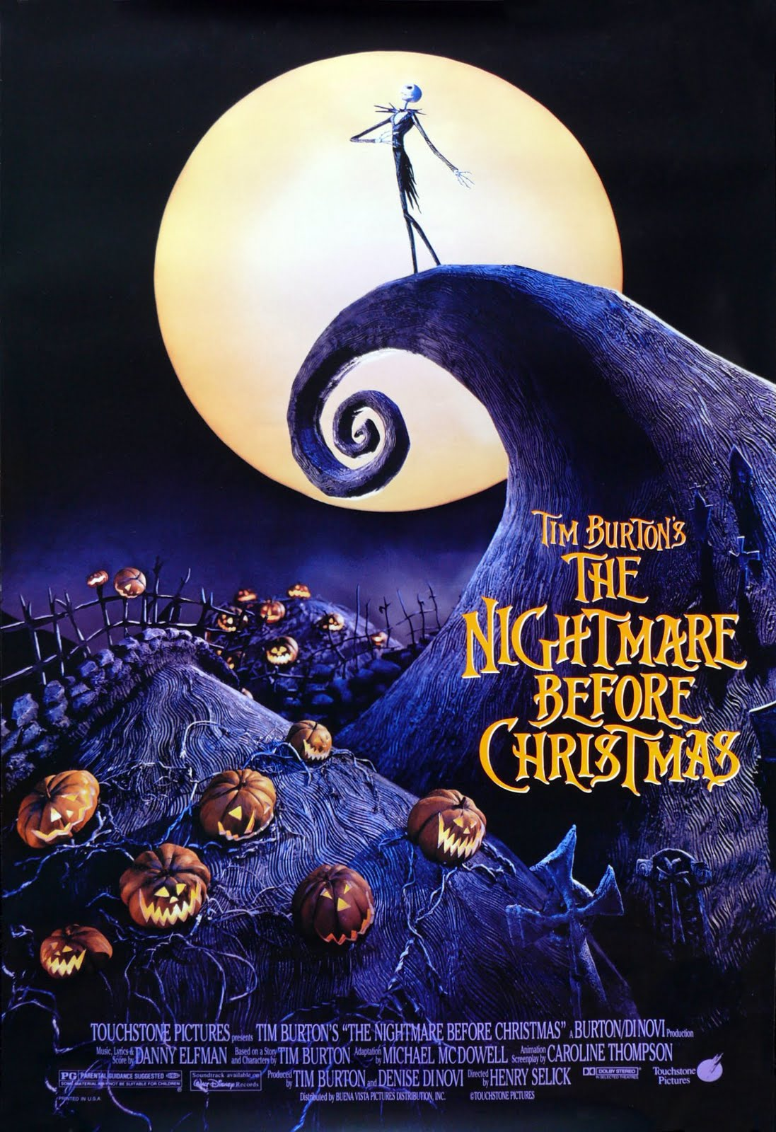 ... : An IMDb Movie Blog: Day Forty-One: The Nightmare Before Christmas