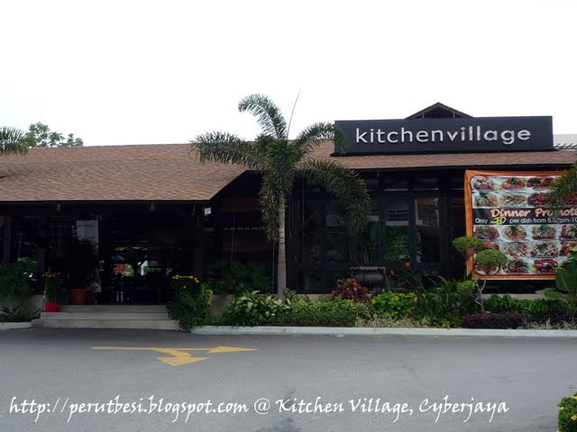 Kitchen Village Cyberjaya Menu