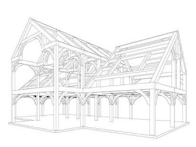 Custom Timber Frames by Vermont Timber Works, Inc.