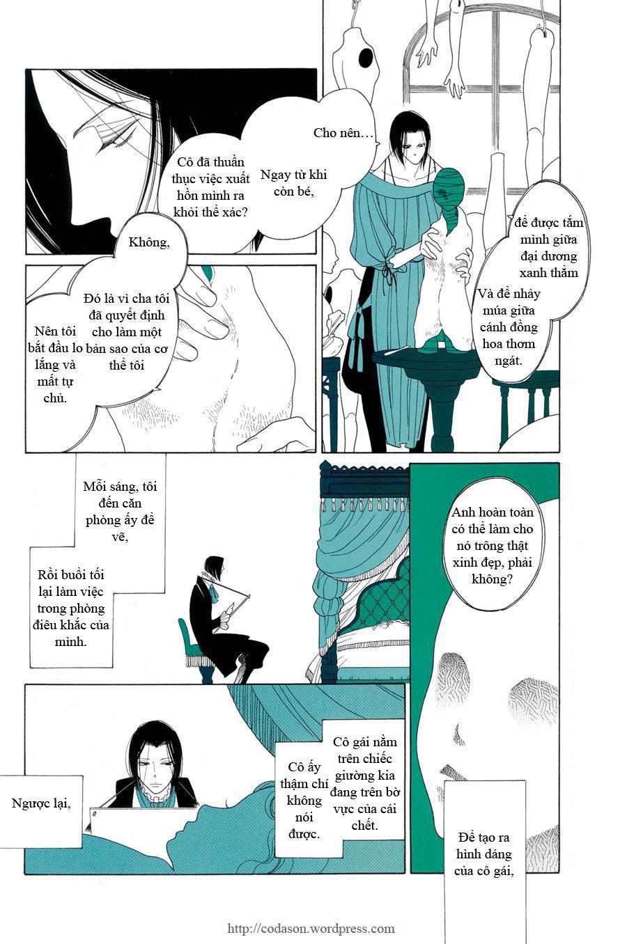 The Bedroom Girl, The Sculpture Girl: Chapter 1: Oneshot