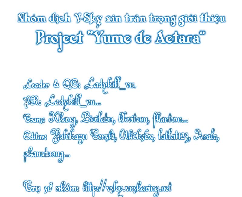 Yume de Aetara chap 32 - Trang 21