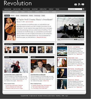 Revolution Pro Media Theme For Wordpress