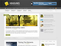 Headlines - WooThemes Premium Wordpress Theme