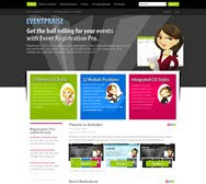 EventPraise - Event Registration Pro Template