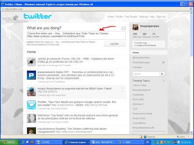 twitter ayuda: timeline en twitter