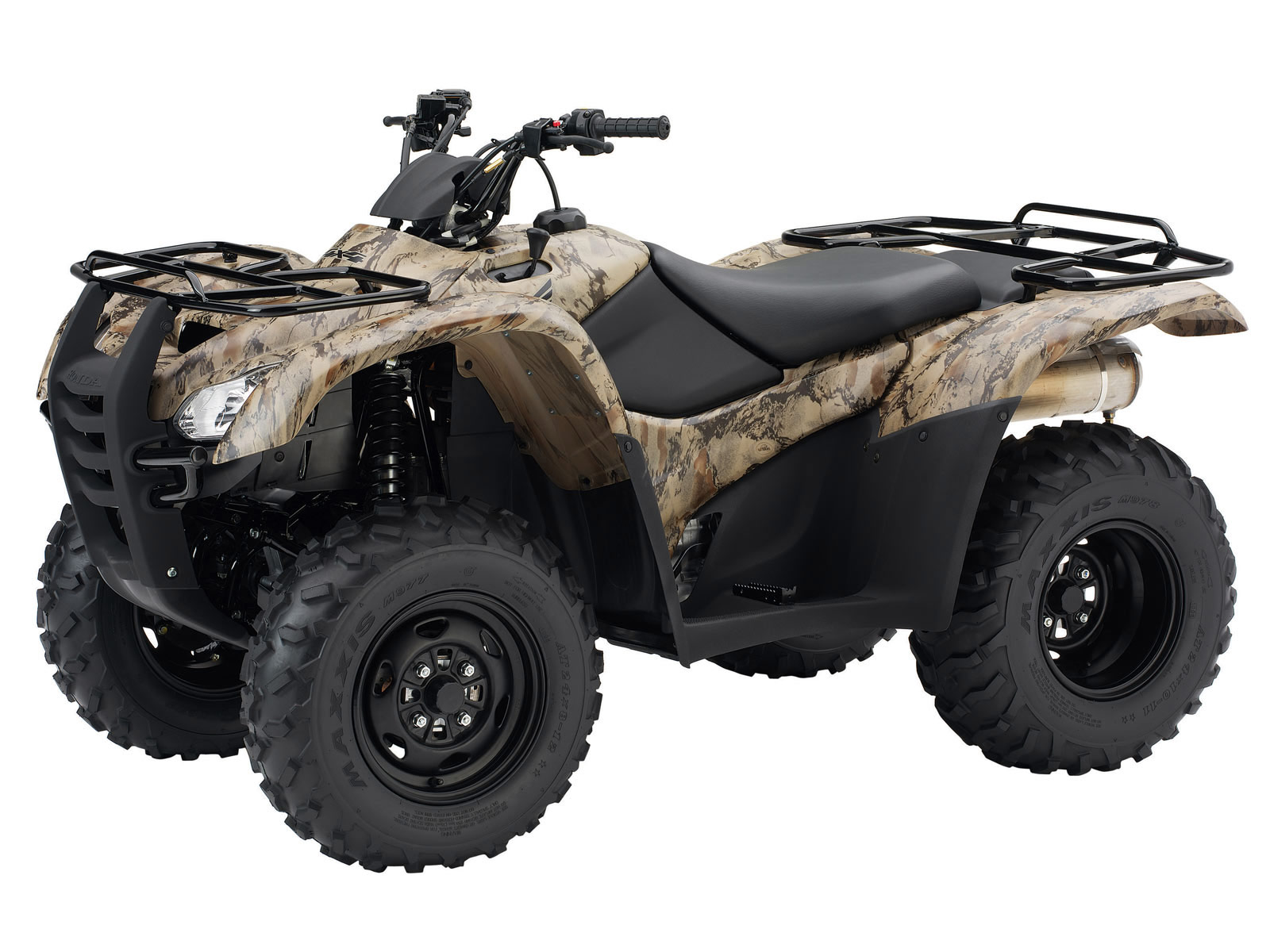 2008 Honda Fourtrax Rancher 4x4 Atv Pictures Specs