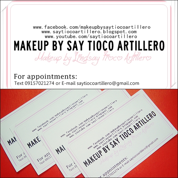 Update: Official Sample Business Card ░